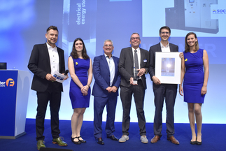 "ees AWARD: SOCOMEC was honored for ""Microgrid Energy Storage Solution – High-efficiency at low load levels"""
