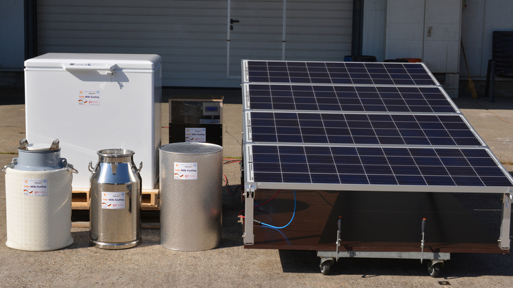 Intersolar AWARD Winner 2017: Phaesun GmbH and Hohenheim University (joint submission, Germany) - Solar powered cooling for enhancing milk value chains