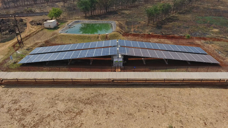 The smarter E AWARD Finalist 2018: BayWa r.e. Solar Projects GmbH (Germany) - Solar plant and battery storage for irrigation on AKTC Farm in Zambia